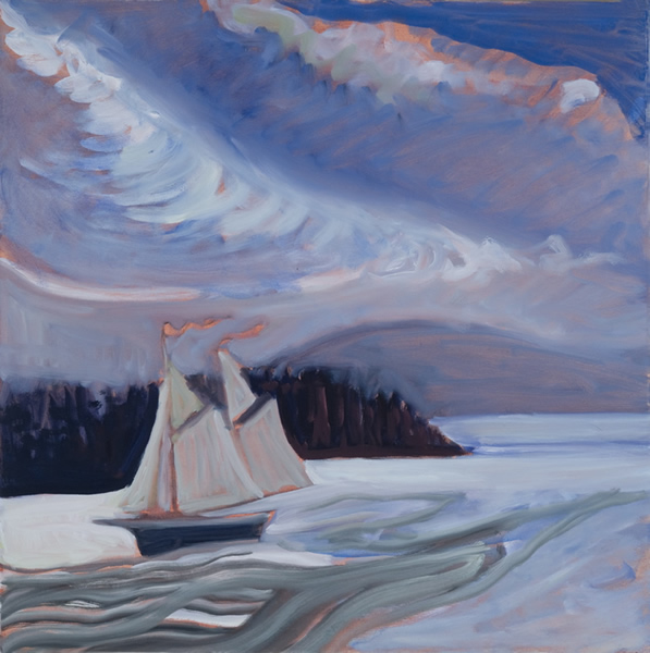 Coming In - 20w x 20h Oil on Canvas SOLD!
