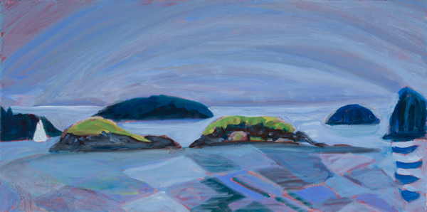 Dagger and Downfall Islands 24W x 12H